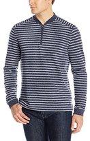 Nautica Men's Stripe 1/4 Zip