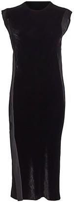 Helmut Lang Velvet Shift Dress