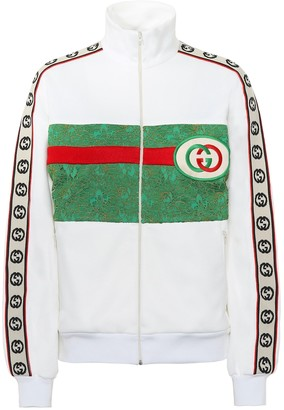 Gucci Cotton blend track jacket