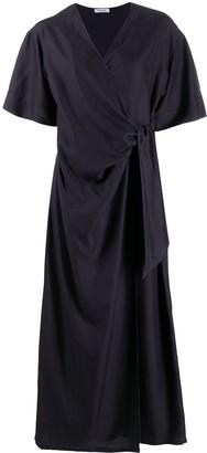 P.A.R.O.S.H. belted V-neck dress