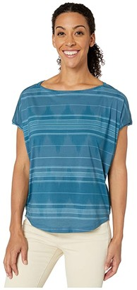 Prana Shenay Top (Blue Note) Women's T Shirt