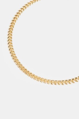 francesca's Riley Dates Metal Choker - Gold