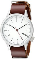 Komono Unisex KOM-W1903 Magnus Analog Display Japanese Quartz Red Watch