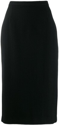Dolce & Gabbana Pre-Owned 1990's Fitted Midi Skirt