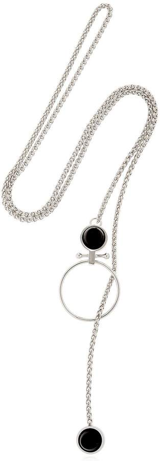 Moutton Collet Crystal Piercing Necklace