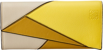 Loewe Puzzle Leather Continental Wallet