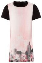 DKNY Skyline Digital Printed Dress