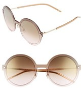 Marc Jacobs Women's 54Mm Round Sunglasses - Gold