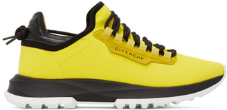 Givenchy Yellow Spectre Runner Sneakers