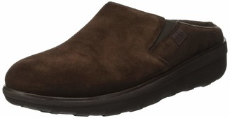 FitFlop Women's Loaff Tm Suede Clog Slip On Trainers