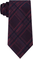 Calvin Klein Men's Indigo Plaid Tie
