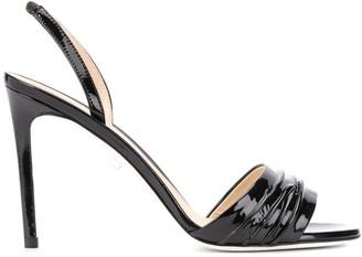 Grey Mer Slingback Sandals