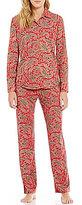Lauren Ralph Lauren Paisley Jersey Classic Pajamas