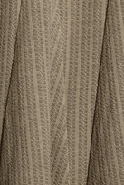 Issa Knitted stretch-wool dress