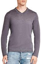 The Kooples Long Sleeve Wool Sweater