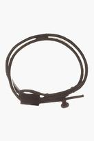 Kenzo Black & Pink Leather Le 18 Bracelet
