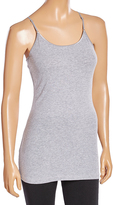 Pure Style Girlfriends Heather Gray Scoop Neck Camisole