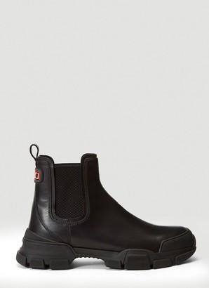Gucci Logo Slip-On Boots