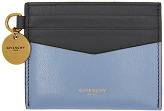 Givenchy Navy and Blue Two-Tone Edge Card Holder