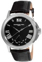 Raymond Weil 9576-STC-00200 Men's Tradition Black Leather Watch