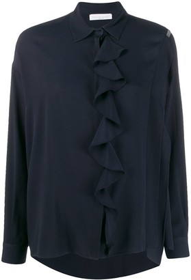 Fabiana Filippi Relaxed Fit Ruffle Detail Blouse