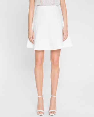 Express Endless Rose High Waisted A-Line Mini Skirt