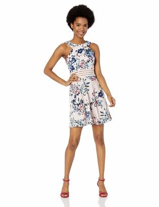 Speechless Women's Circle Neck Dress