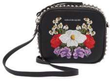 Alexander McQueen Mini Studded Leather Camera Bag