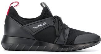 Moncler Logo-Print Low-Top Sneakers