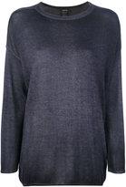 Avant Toi slim-fit jumper - women - Silk/Cashmere - S