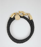 Reiss Toucan Leather And Metal Bracelet