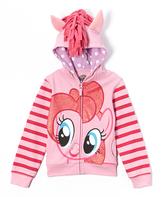 Freeze Pink Pinkie Pie Zip-Up Hoodie - Toddler & Girls