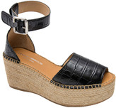 Andre Assous Luz Leather Wedge Sandal