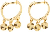Gorjana Chloe Mini Disc Huggie Hoop Dangle Earrings