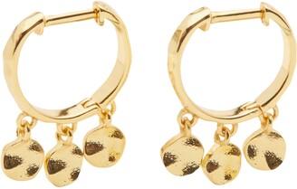 Gorjana Chloe Mini Disc Huggie Hoop Earrings