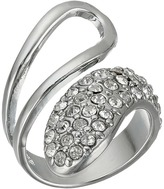 GUESS Half Open, Half Pave Bypass Ring