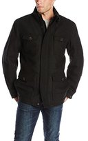 Andrew Marc Men's Travis Wool-Blend Military Jacket