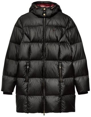 Jack Wills Kershaw Padded Long Line Coat