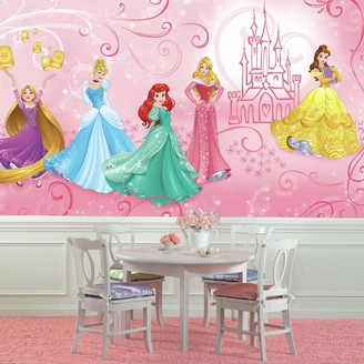 Mural Roommates Disney Princess Enchanted Wall by RoomMates