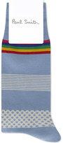 Paul Smith Mixed Bag Multipattern Cotton Socks