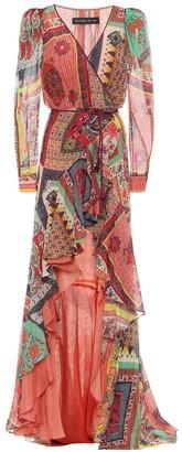 Etro Printed cotton-blend dress