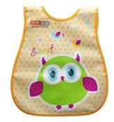 Kylin Express Infant Saliva Towel Lovely Baby Bib Home/Travel Bib Soft,Waterproof,Night Owl