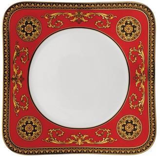 Versace Medusa Red Square Fruit Plate