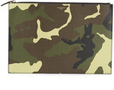 Givenchy large camouflage clutch