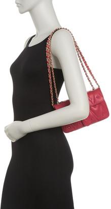 Mario Valentino Poisson D Studded Quilt Crossbody Bag