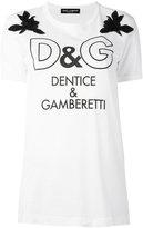 Dolce & Gabbana printed T-shirt - women - Cotton - 44