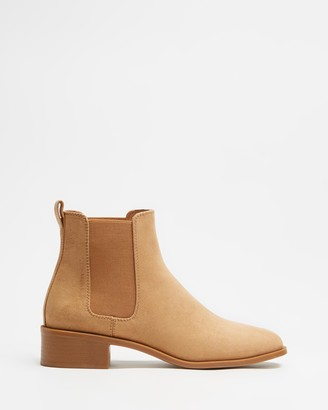 Spurr Women's Brown Chelsea Boots - Zahara Ankle Boots - Size 5 at The Iconic