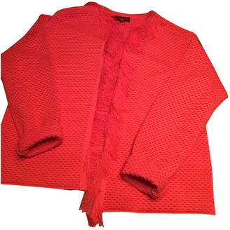 Adolfo Dominguez Red Jacket for Women