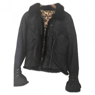Roberto Cavalli Black Coat for Women