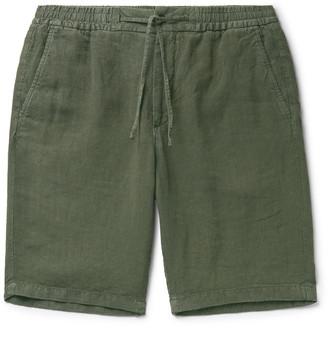 NN07 Seb Linen Drawstring Shorts